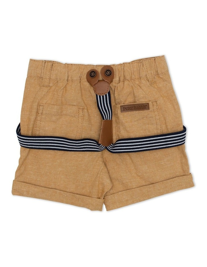 Cross Dyed Shorts with Braces image 2
