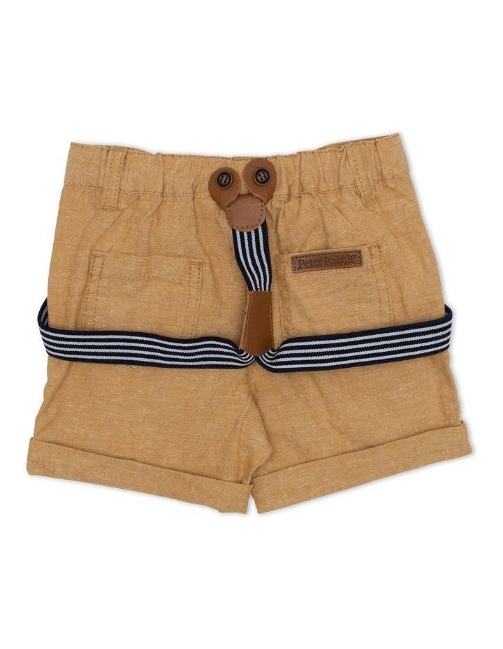 Mini Stripe Shorts with Belt image 2