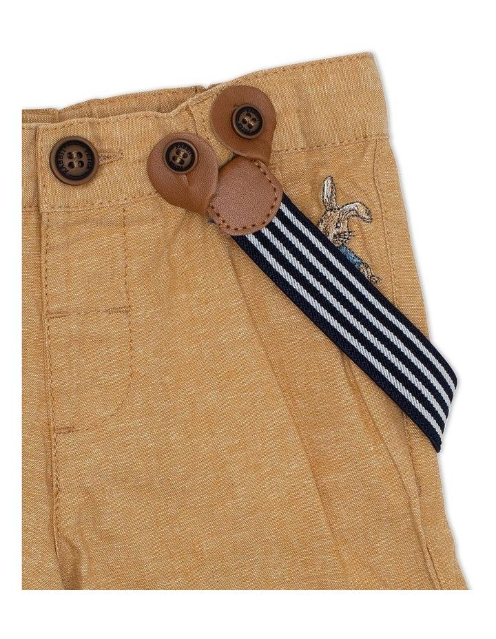 Mini Stripe Shorts with Belt image 3