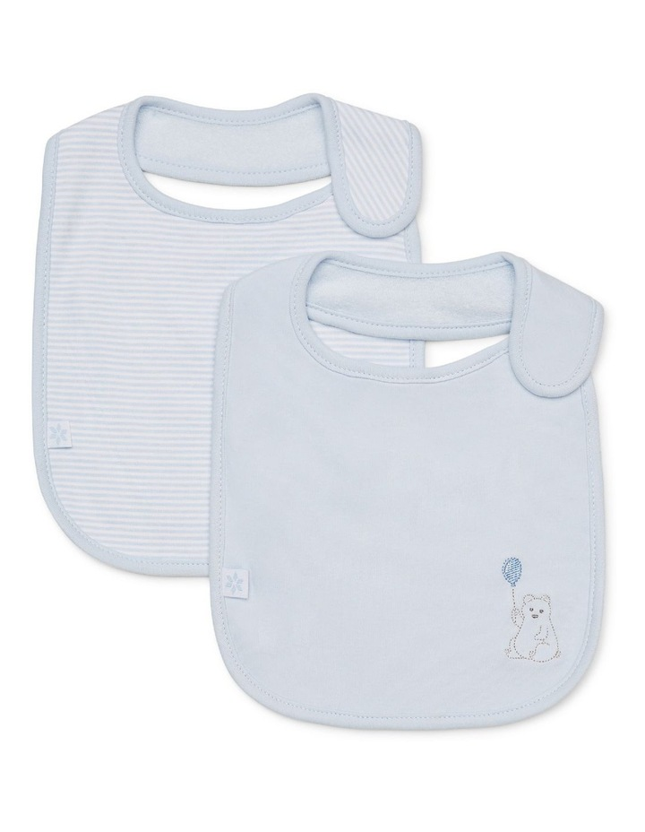 2 pack Bibs - Bear image 1