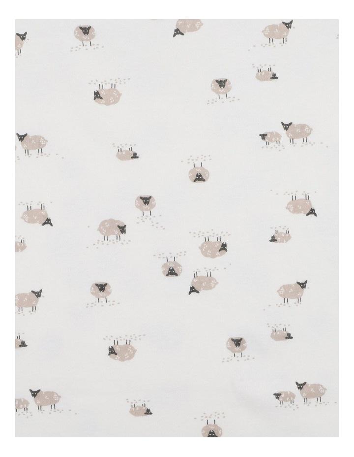 Sheep Print Bunny Rug image 3