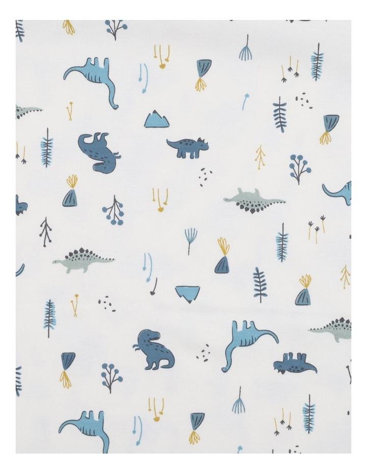 Dino Print Bunny Rug image 3
