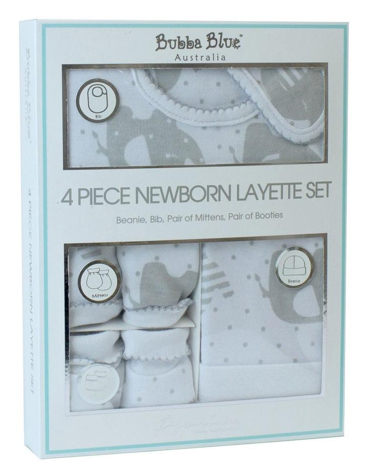 Petit Elephant 4 Piece Newborn Layette Gift Set image 1