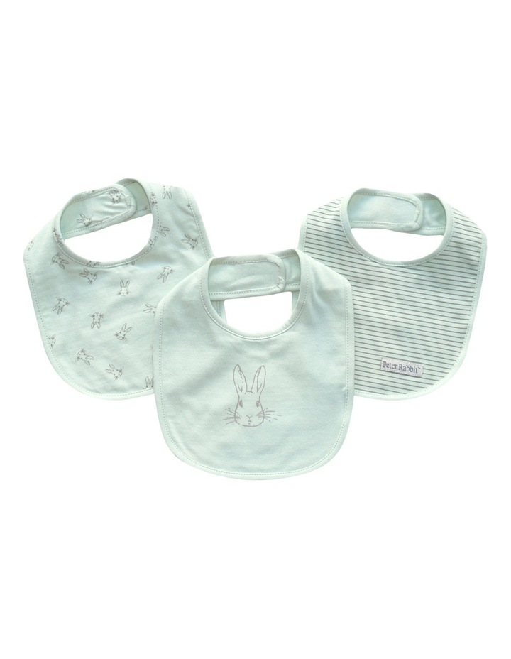 Boys 3 Pack Bibs Set image 1