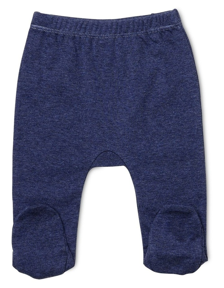 L/S Top & Footed Leggings image 3