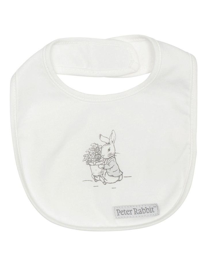 Grey Bunny Bib Set image 2
