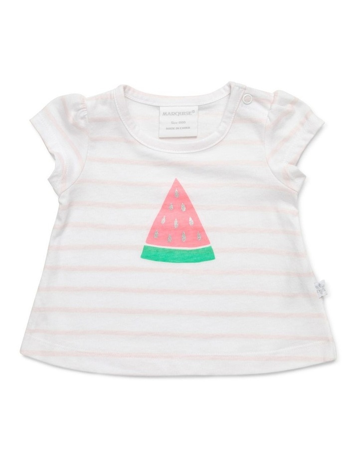 Watermelon Tee & Frilled Bloomer Set image 2