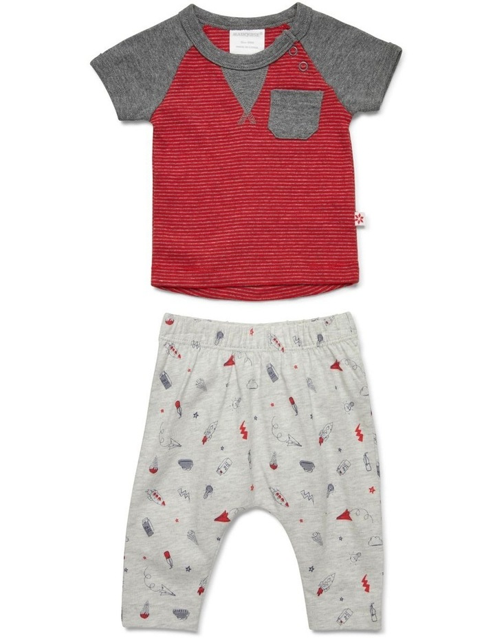 Scribble Tee & Pant Set image 1