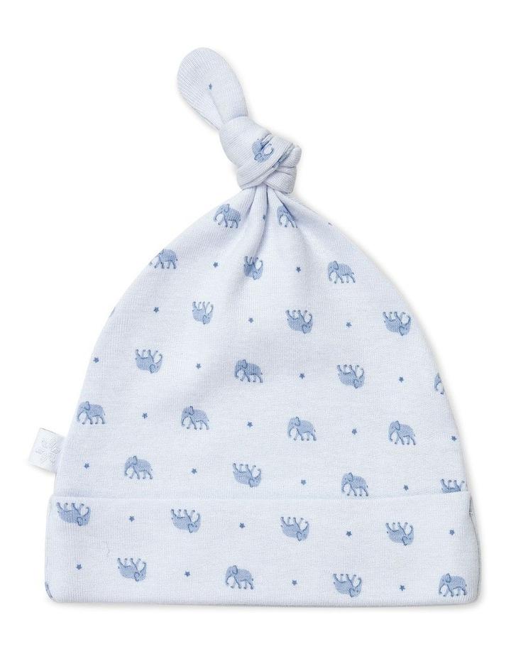 Elephant Studsuit And Beanie Set image 3