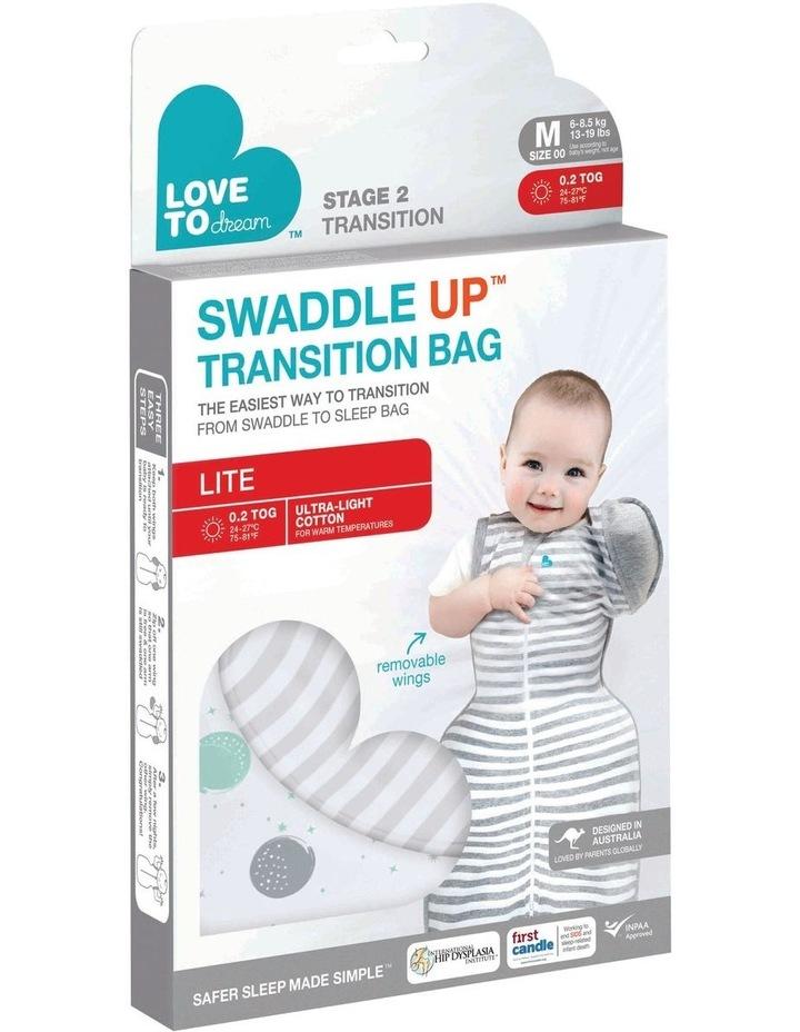 Swaddle Up Transition Bag Lite 0.2 Tog White image 2