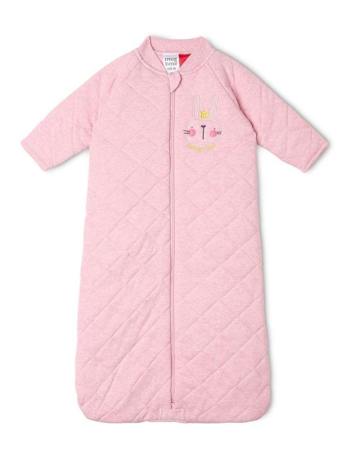 Long Sleeve Padded Cosi Bag Pink Bunny image 1