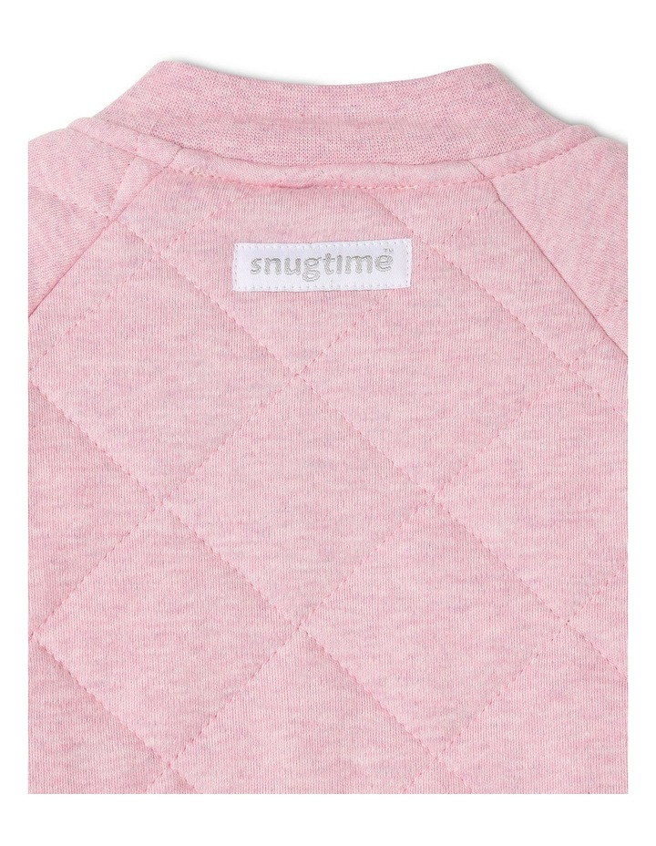 Long Sleeve Padded Cosi Bag Pink Bunny image 3