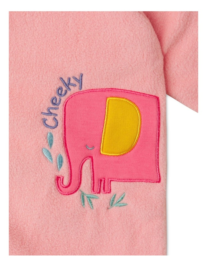 Lined Polar Fleece Blanket Sleeper image 2