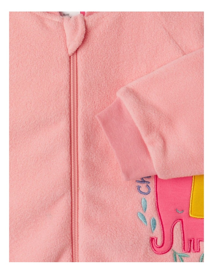 Lined Polar Fleece Blanket Sleeper image 4