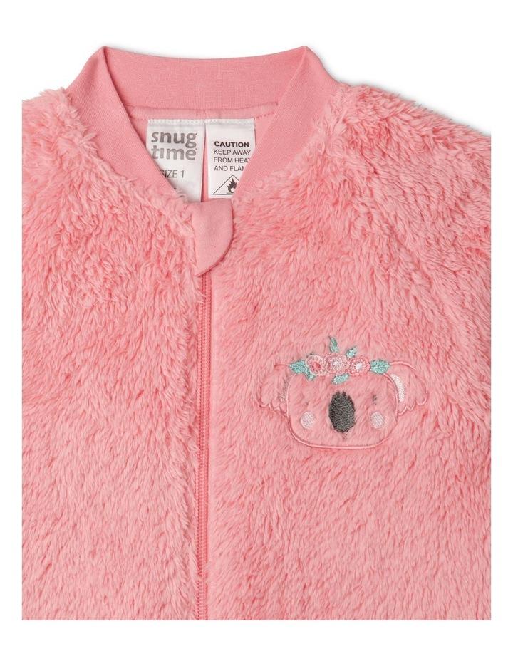 Lined Coral Fleece Blanket Sleeper image 2