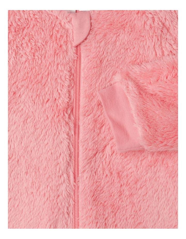 Lined Coral Fleece Blanket Sleeper image 3