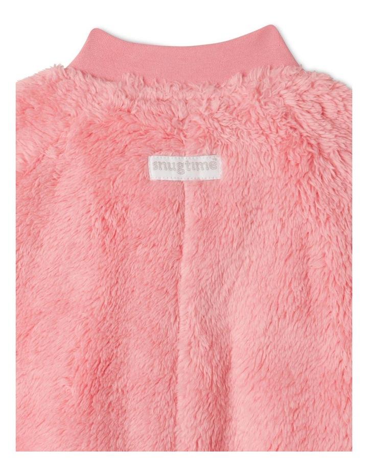 Lined Coral Fleece Blanket Sleeper image 4