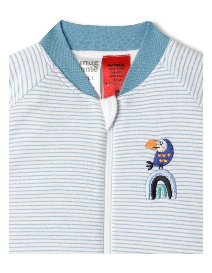 Long Sleeve Padded Stripe Cosi Bag image 2