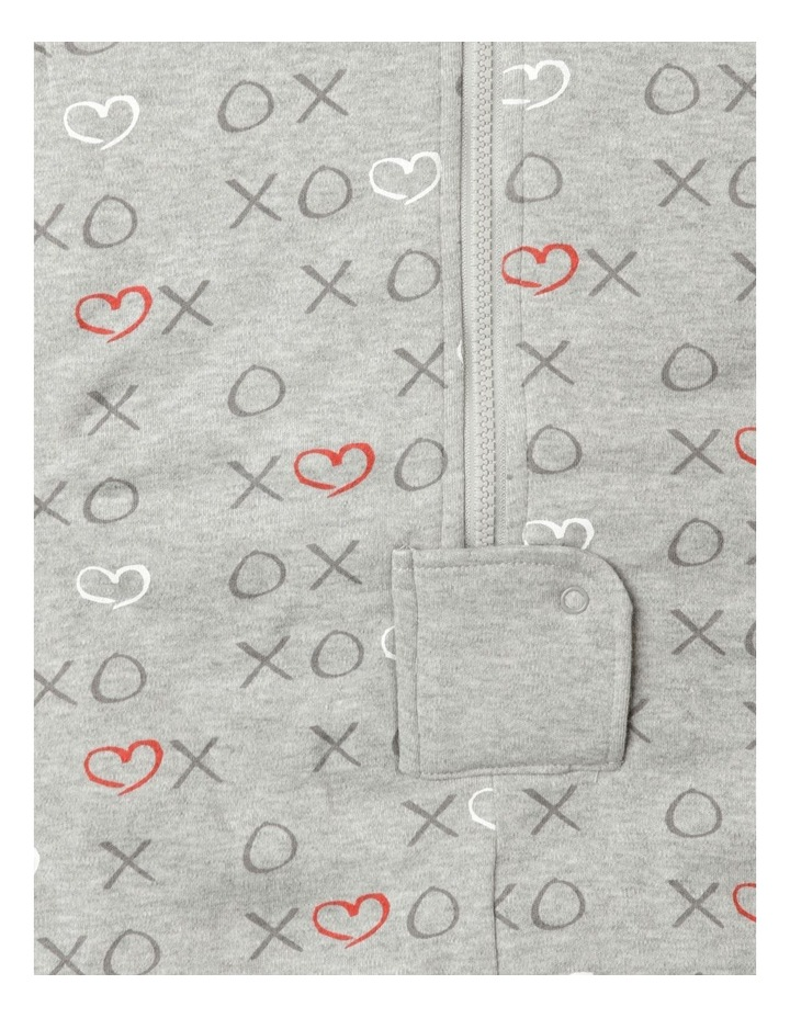 Grey Marle Convertible 2.5 Tog Sleep Bag image 4