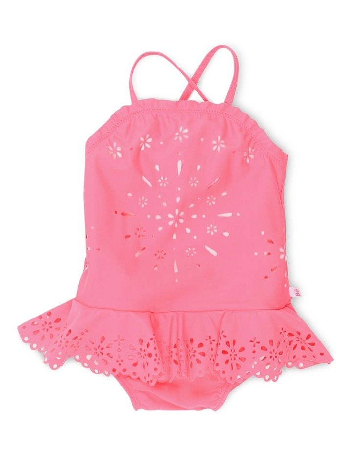 Elle Swim Suit w Cutwork image 1