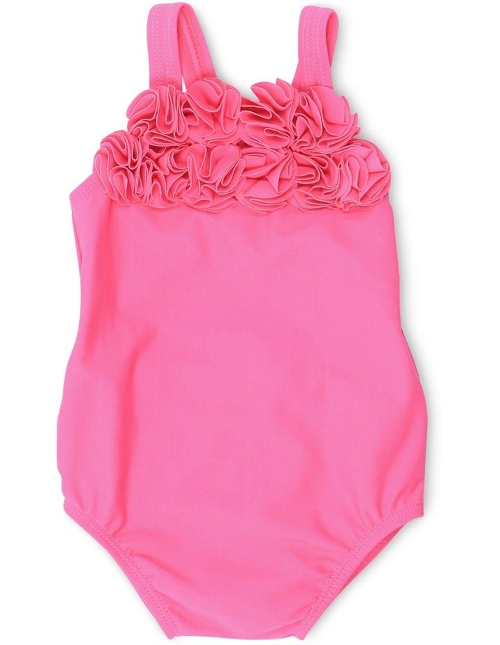 Hailey Swim Suit w Flowers image 1