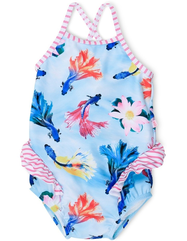 Madeline Fish Print Swim Suit image 1