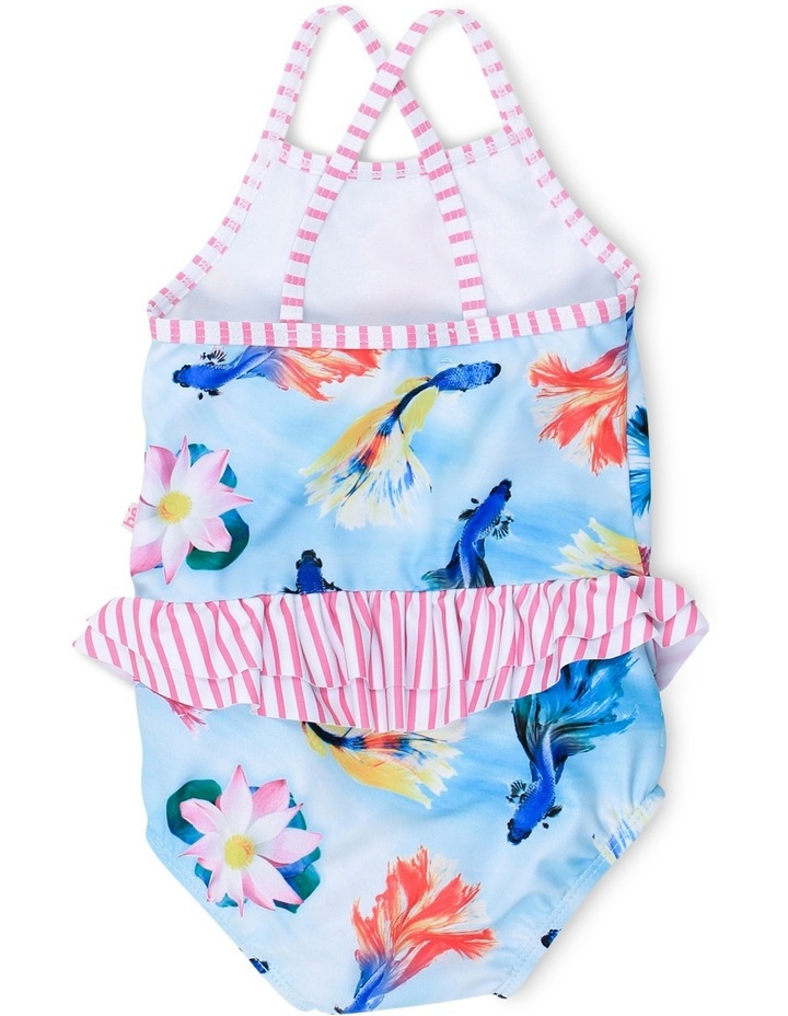 Madeline Fish Print Swim Suit image 2