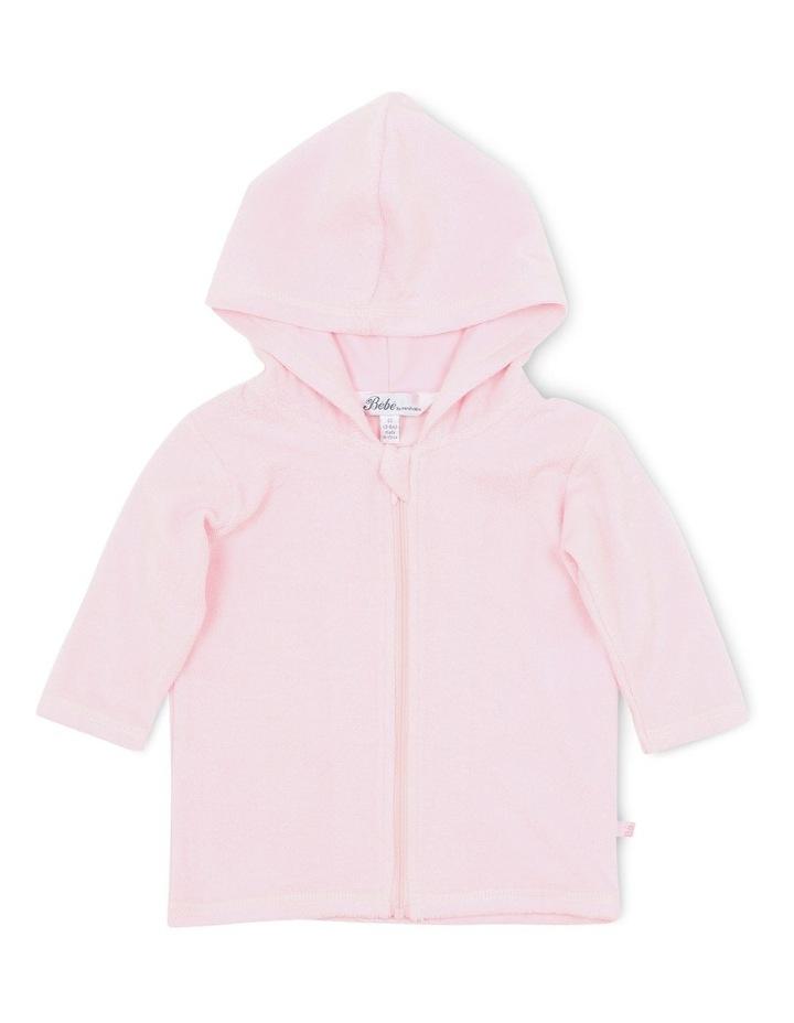 Emma L/S Zip Hooded Towel Jacket image 1
