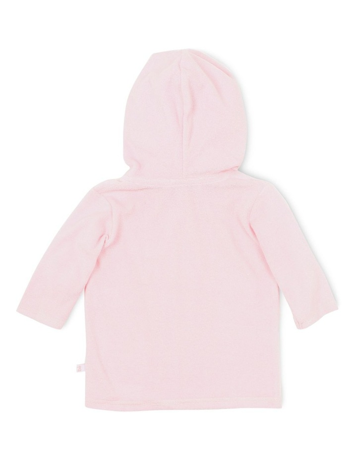 Emma L/S Zip Hooded Towel Jacket image 2