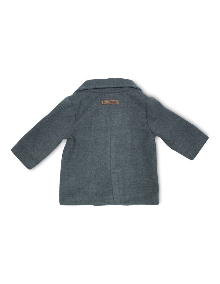 Charcoal Pea Coat image 2