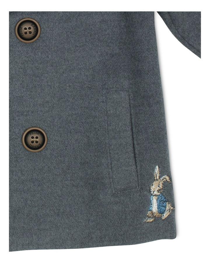 Charcoal Pea Coat image 3
