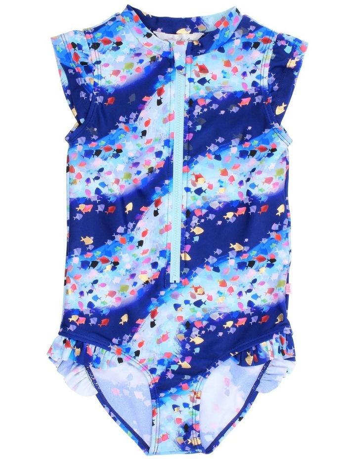 Bella Zip Front Swimsuit image 1