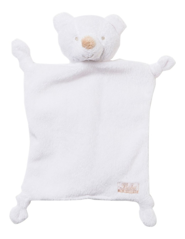 Teddy Comforter in White image 1