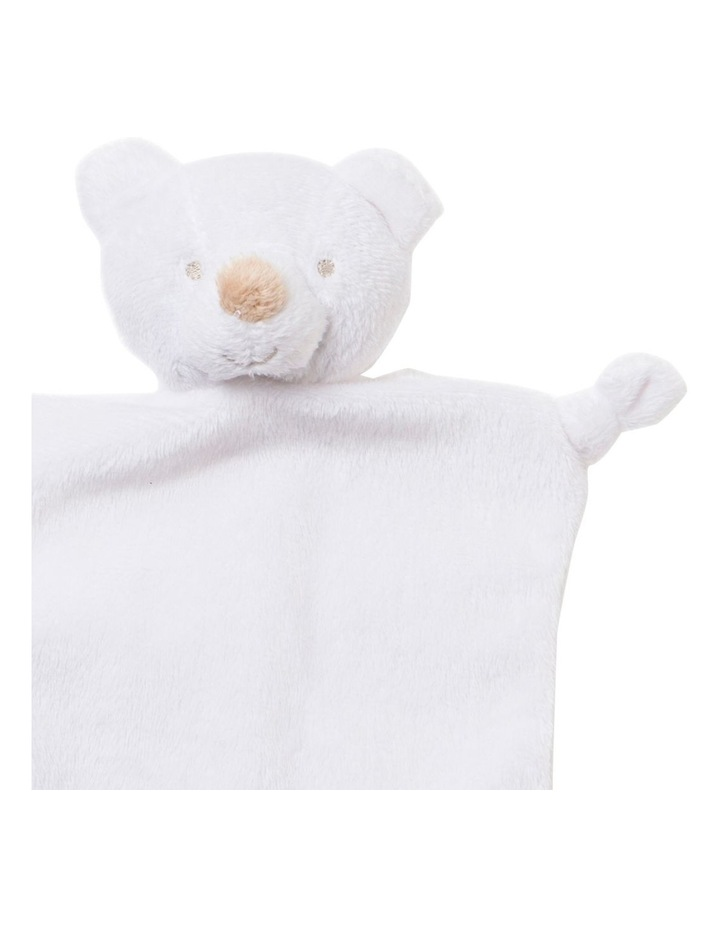 Teddy Comforter in White image 2