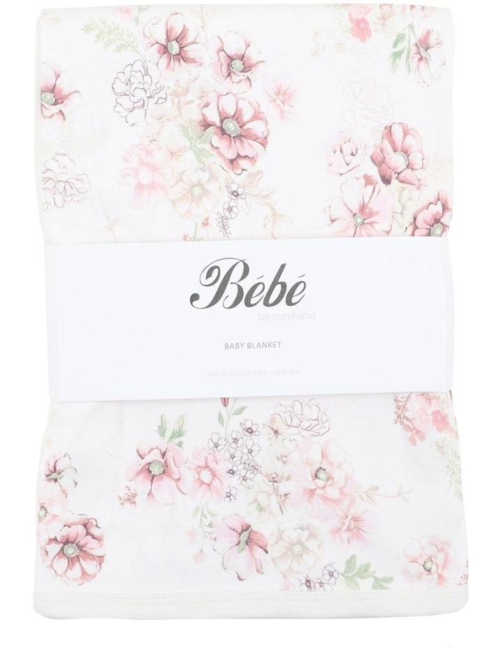 Amelie Print Bunny Rug Blanket image 1