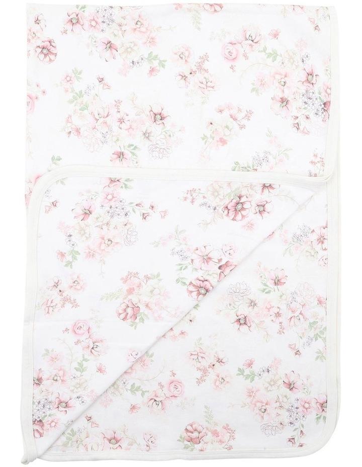 Amelie Print Bunny Rug Blanket image 2