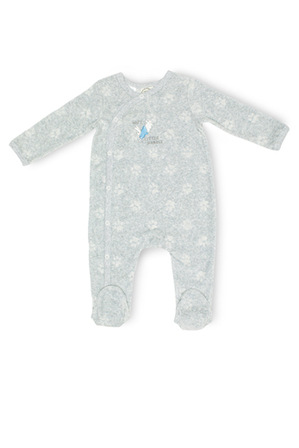 Peter Rabbit - Boys Velour Coverall