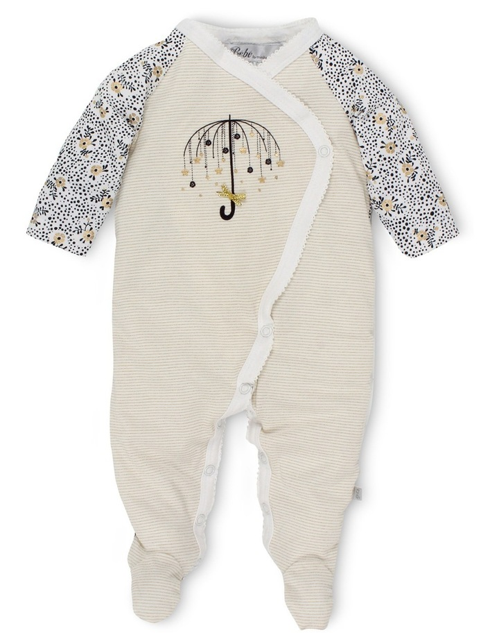 Claire long sleeve coverall with feet image 1