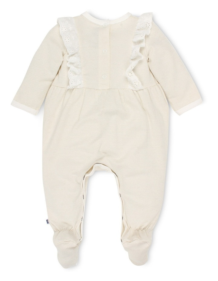 Claire long sleeve coverall with feet image 2
