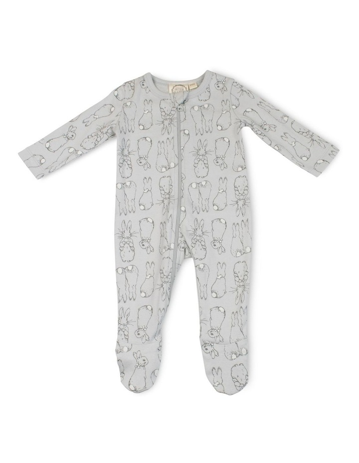 GREY ZIP COVERALL image 1