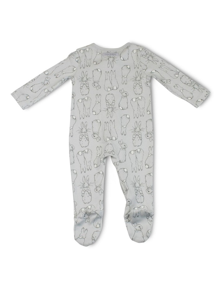 GREY ZIP COVERALL image 2