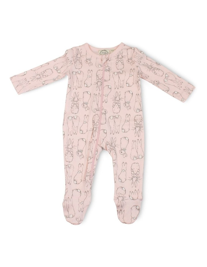 PINK ZIP COVERALL image 1