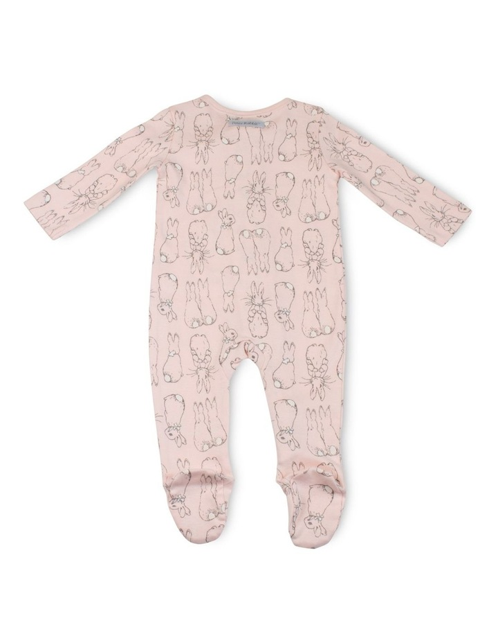 PINK ZIP COVERALL image 2