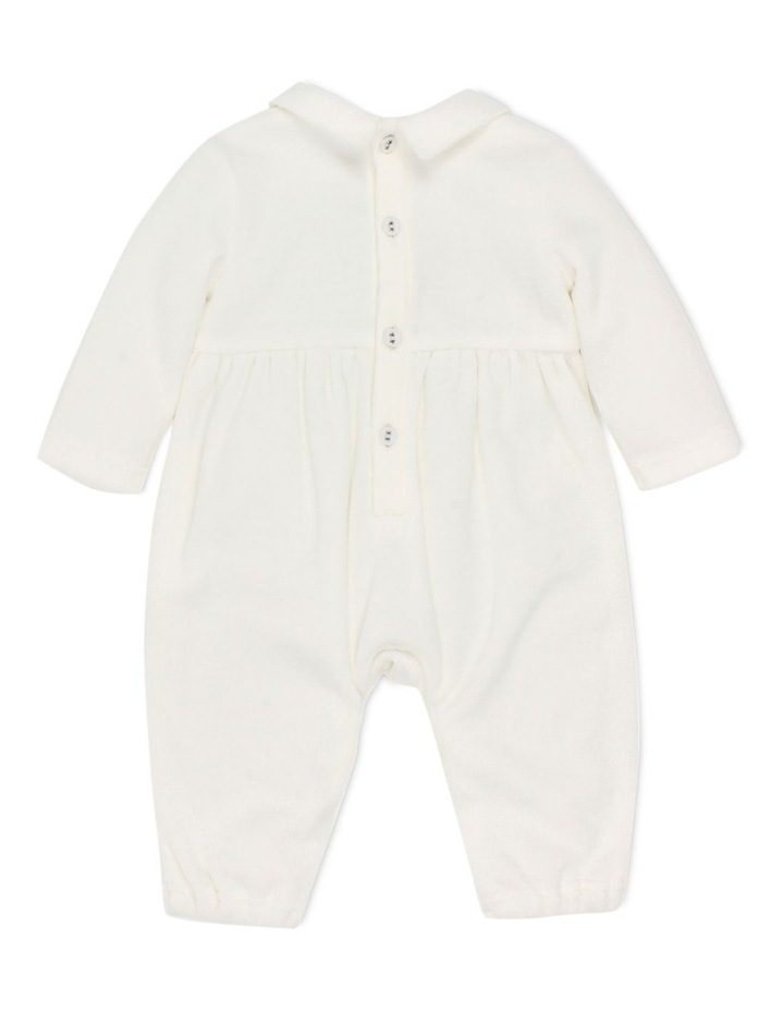 BOYS VELOUR COVERALL image 2