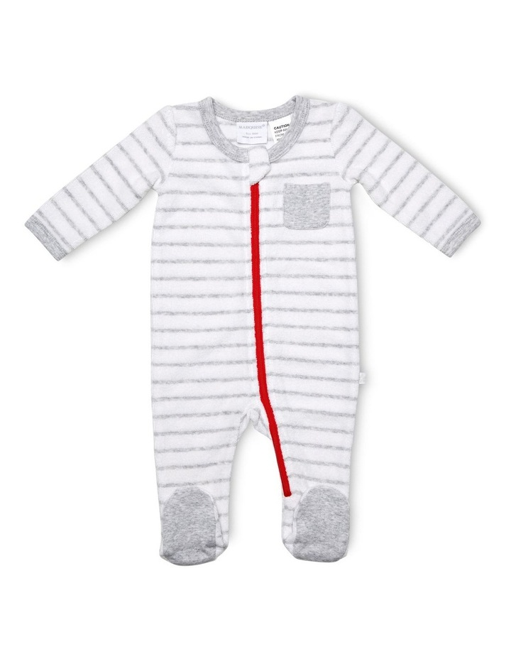 Terry Towelling Zipsuit image 1