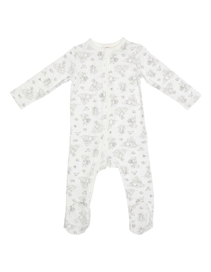 Grey Bunny Zip Coverall image 1
