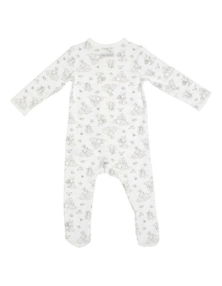 Grey Bunny Zip Coverall image 2