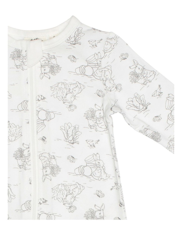Grey Bunny Zip Coverall image 3