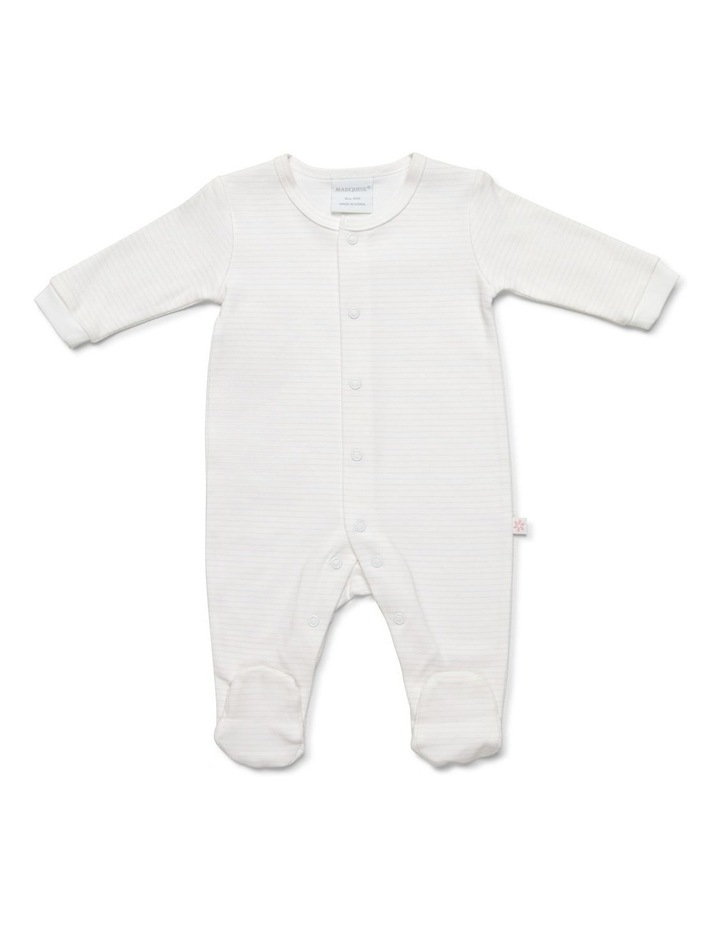 Girl's two-pack footed studsuit image 2