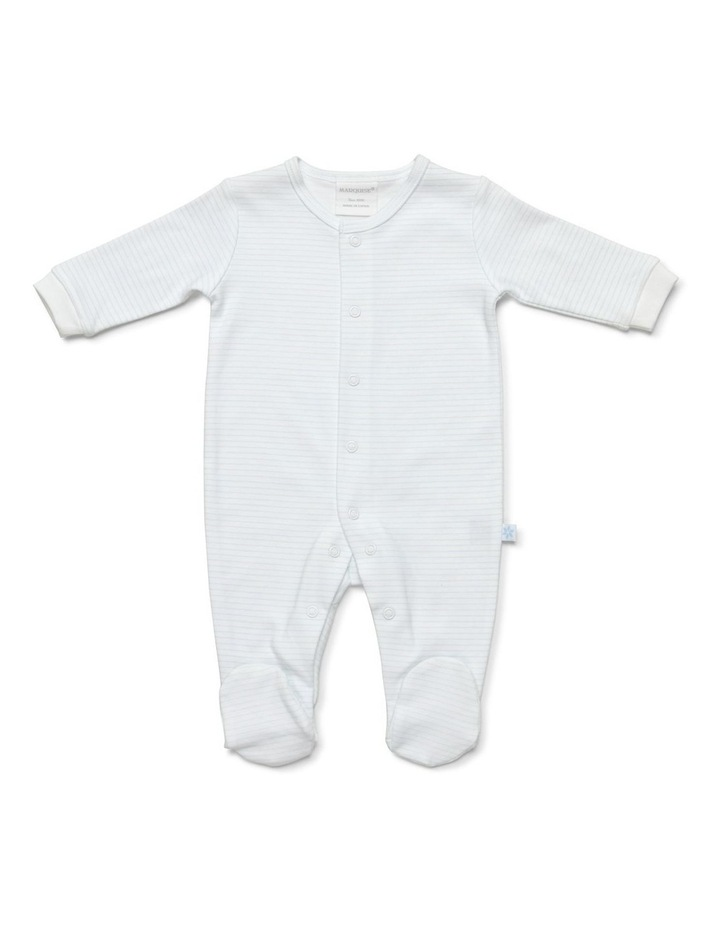 Boy's two-pack footed studsuit image 2